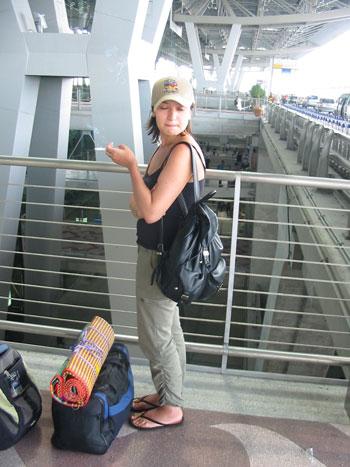 Цумпер в аэропорту Суварнапум (Таиланд)