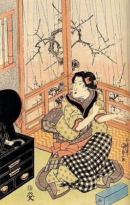 Японские сказки - Страница 2 Utagava-Kunisada-_Toekuni3_-Vesennij-dozhd