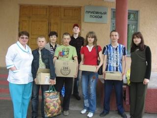 Волонтеры из 21-й школы