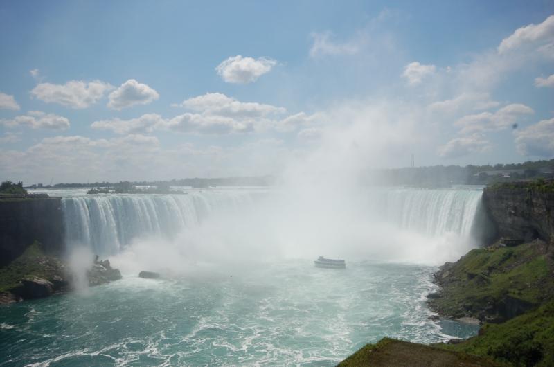 Ниагарский водопад. Знаменитая