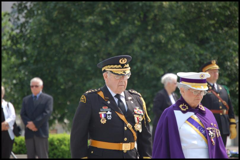Церемония возложения венков к могиле неизвестного солдата (Оттава) by Magon