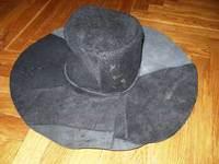 Шьем кожаную шляпу