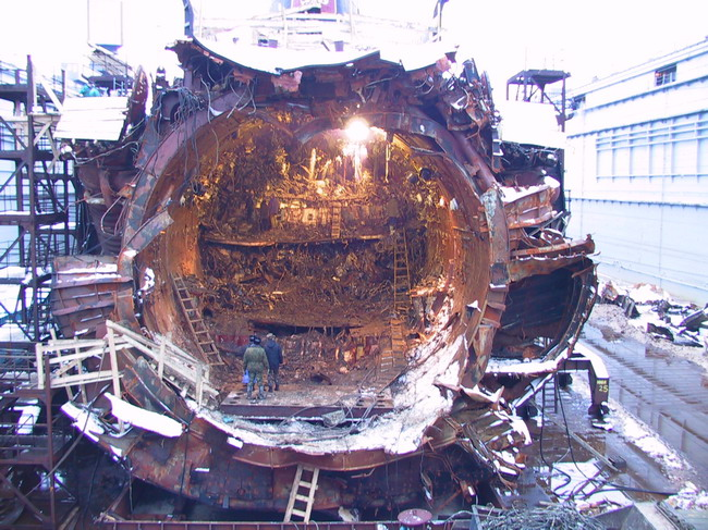 поднятие подводной лодки курск очевидный эфир