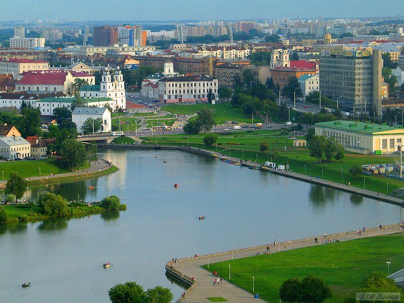 Белоруссия - вид на Минск.
