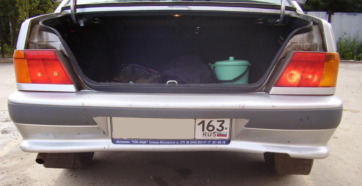 Замена заднего бампера ваз 2115