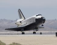 Шаттл «Атлантис» совершил посадку в Калифорнии