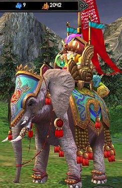 я на слоне