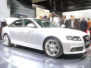 Audi A4 во Франкфурте