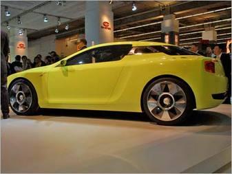 Международный Автосал во Франкфурте Kia Kee Coupe Concept