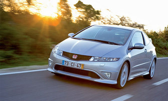 Тест Honda Civic Type R на особых колесах