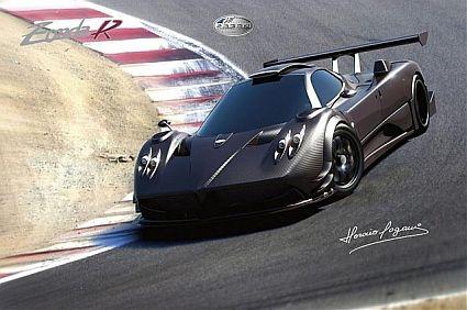 Самые дорогие и роскошные автомобили мира Pagani-Zonda-R