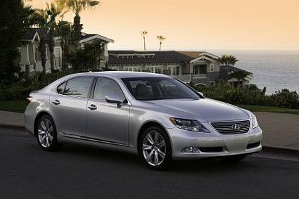 Самые дорогие и роскошные автомобили мира Lexus-LS-600h