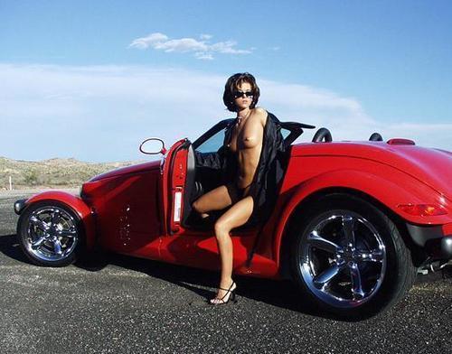 Красивые фото девушки и авто
