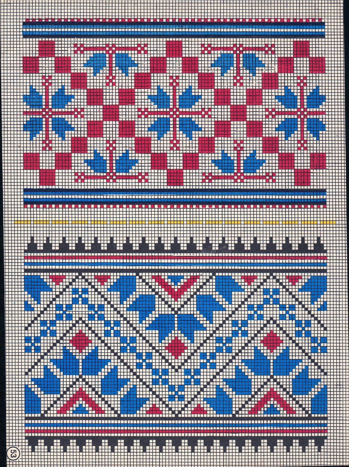 Схемы вышивки украинские сорочки - фиалка в доме - приметы п.