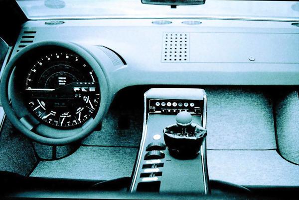 proektor: Maserati Boomerang by Giorgio Giugiaro (1971)