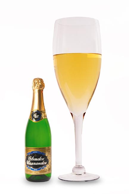 Мега-бокал для шампанского