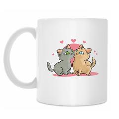 Чашка с котами