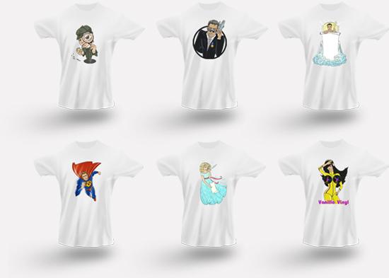 Стильные подарки: футболки.