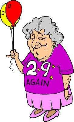 Веселая бабушка