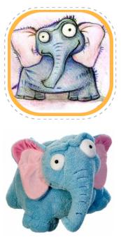 Плюшевый слон