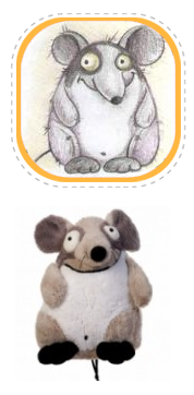 Плюшевая мышь