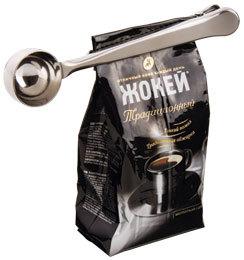 Кофе и мерная ложечка