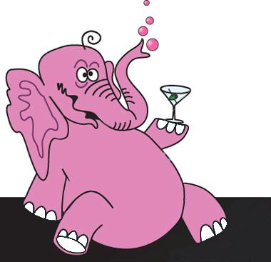 Симпатичный слон