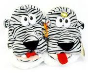 прикольные домашние тапочки-тигрята