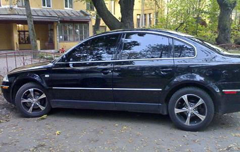 Владимир ставит Volkswagen Passat «отлично»
