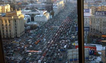 Москве не хватает 150 км крупных магистралей