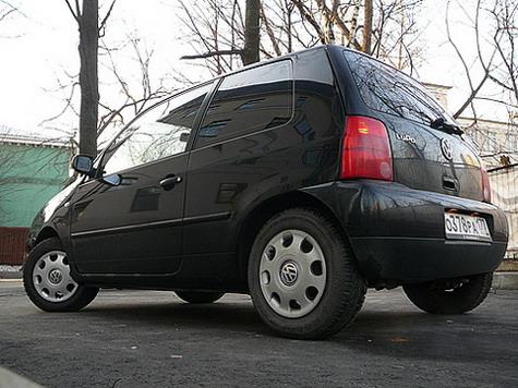 крайне доволен Volkswagen Lupo