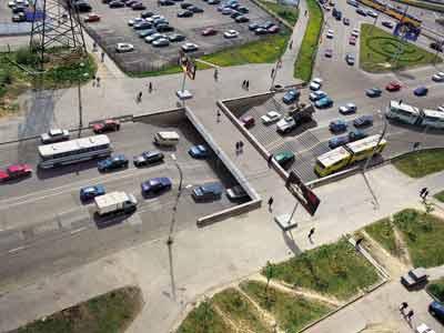 мир в котором правят пешеходы