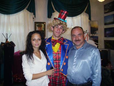 Рогова, клоун и Романовский