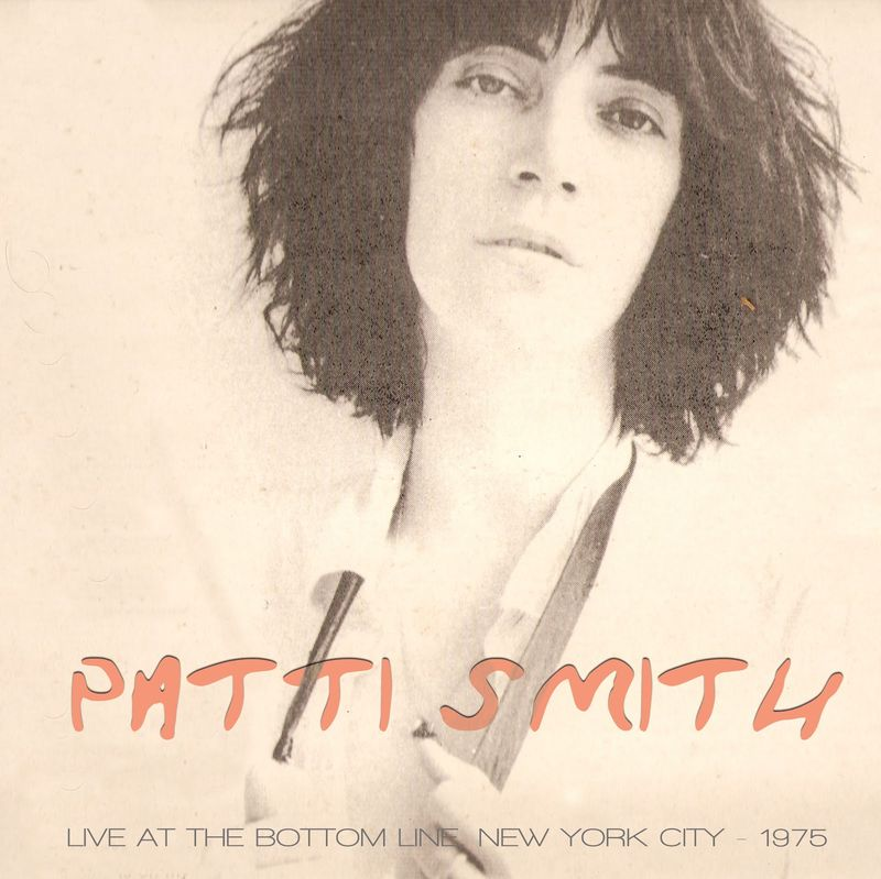PATTI SMITH LIVE AT THE BOTTOM LINE NYC DECEMBER 27, 1975