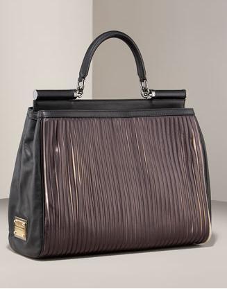 Dolce & Gabbana / Дольче Габбана: сумка Miss Sicily Plisse Tote.