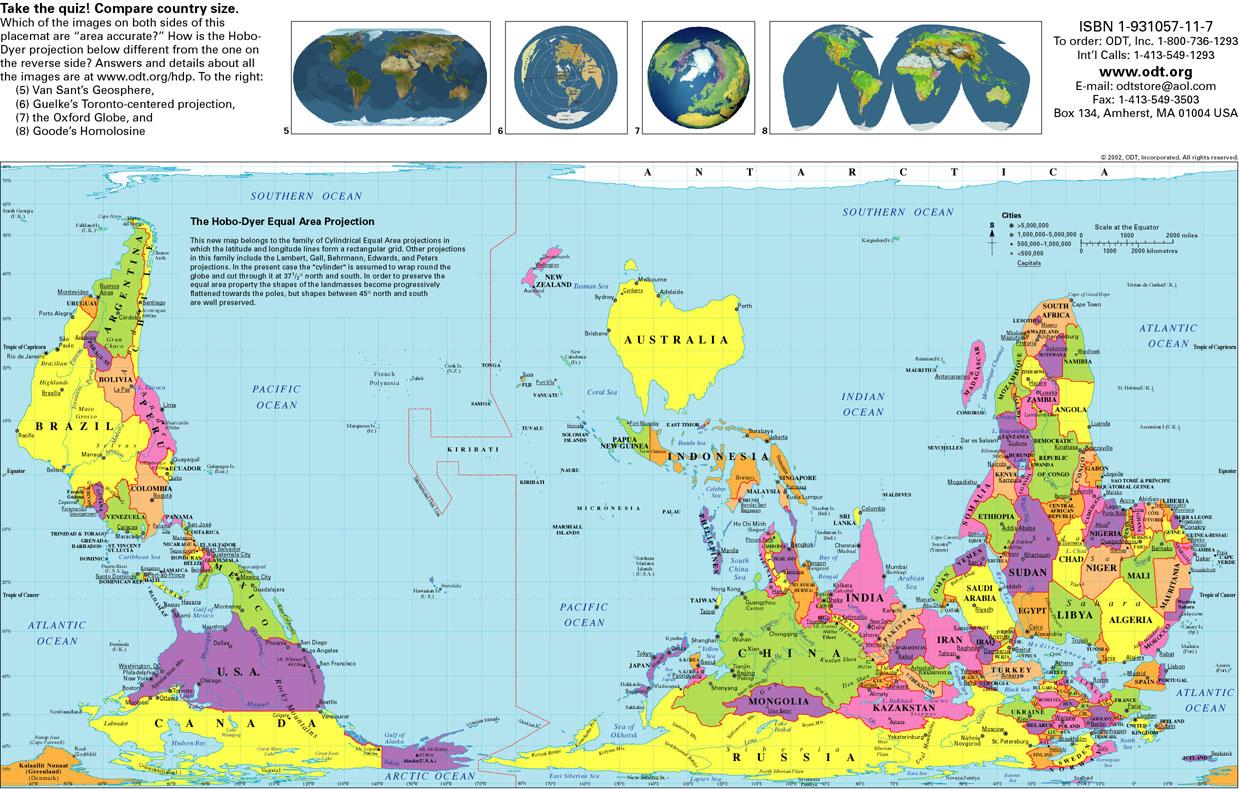 Как видят мир в Австралии и в других странах
