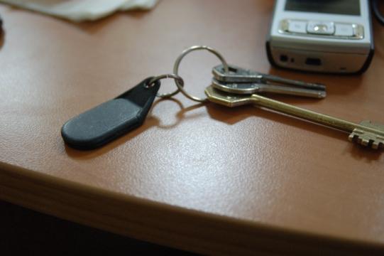 Если потерян ключ от домофона что делать