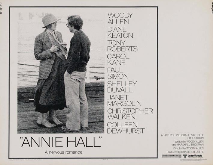 an analysis of annie hall a film by woody allen