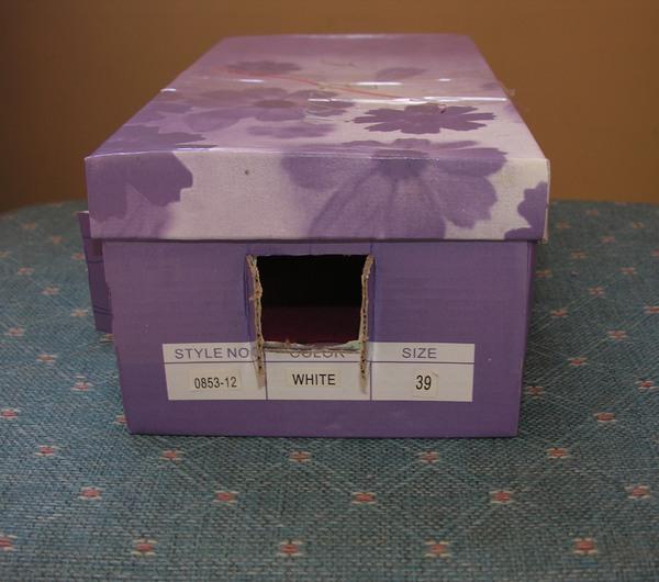 Дом из обувной коробки сделать своими руками 48