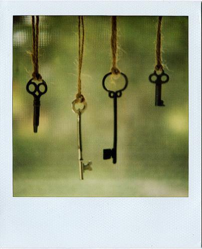 Whimsical Wednesday…Skeleton Keys.