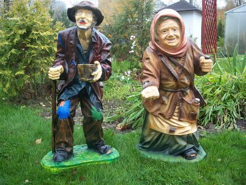 Бабка для сада