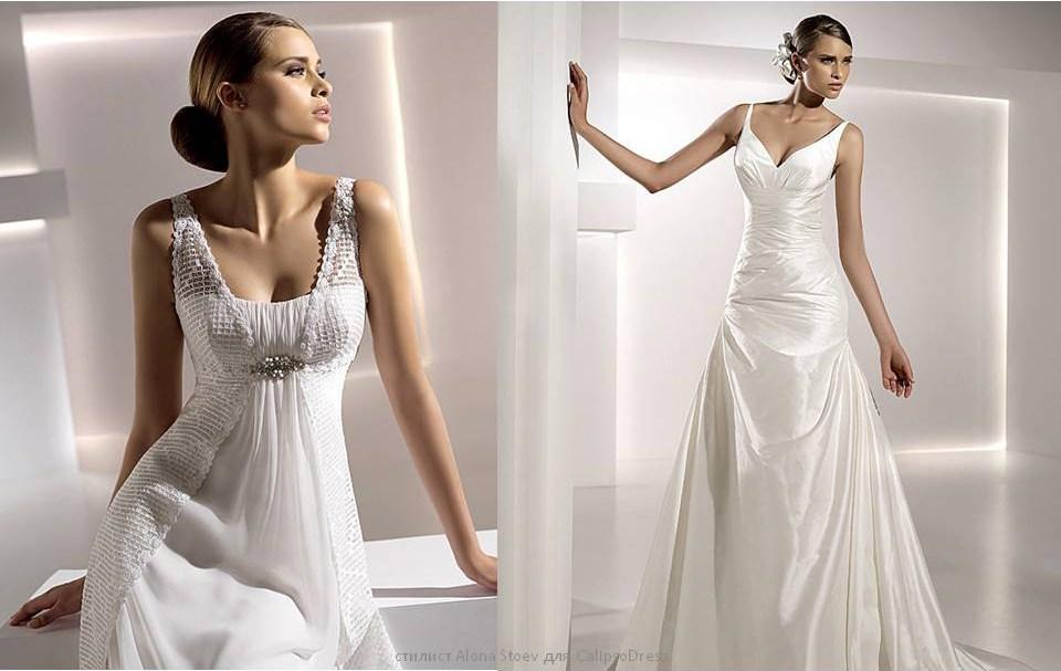 Свадебные платья песочные часы