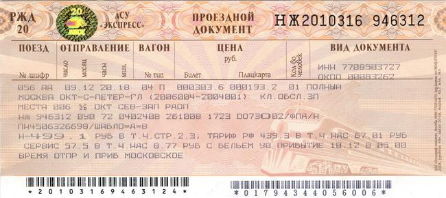 билеты на поезд санкт-петербург москва летом 2016
