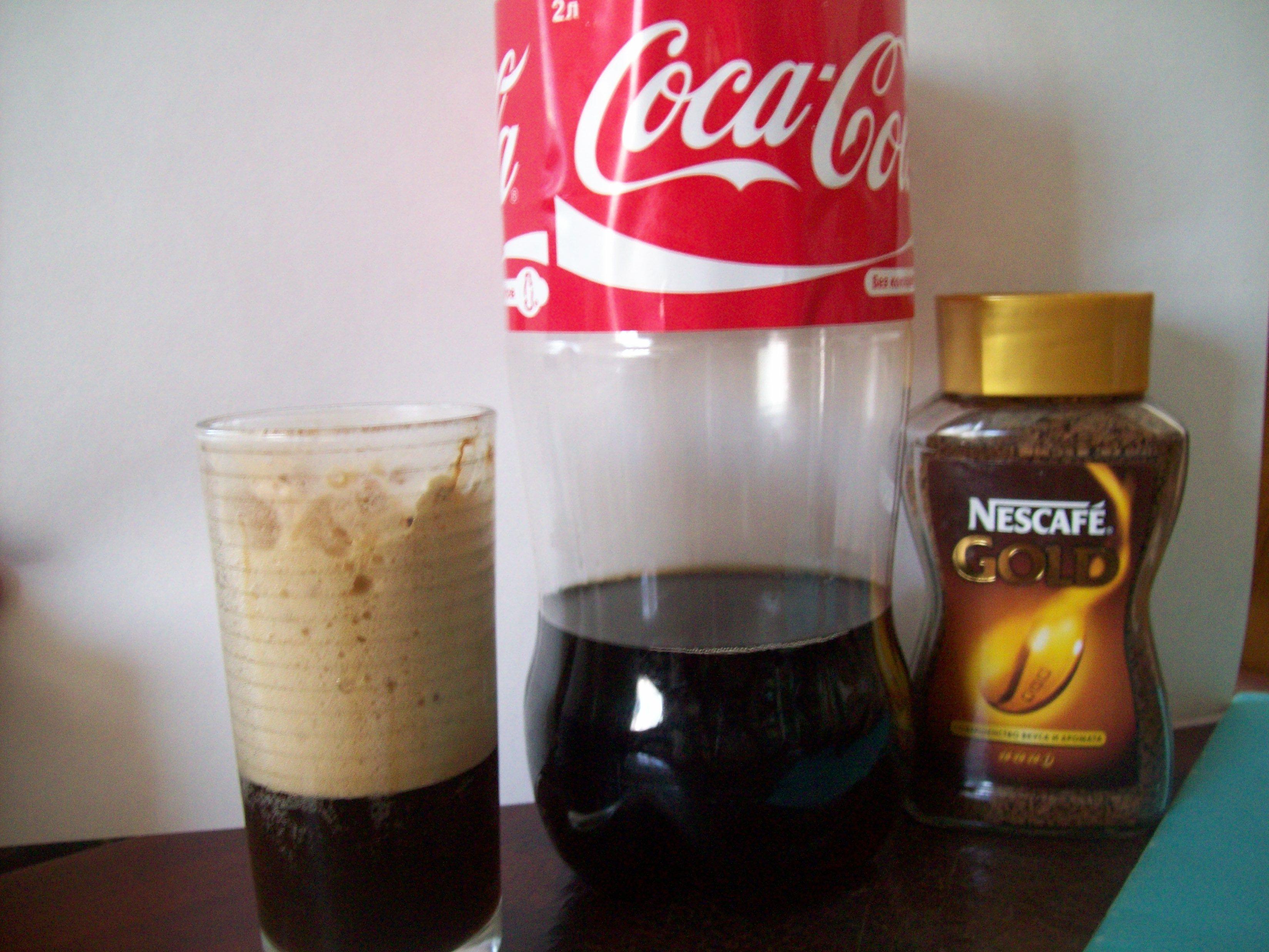 Кофе кола рецепт