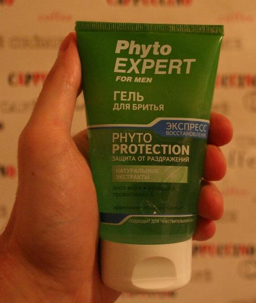 Phyto EXPERT / Русский гель для бритья