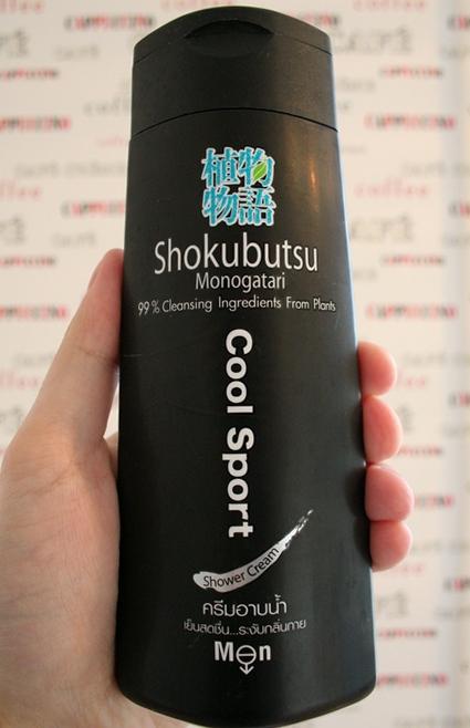 Shokubutsu Monogatari Cool Sport / Японский гель для душа
