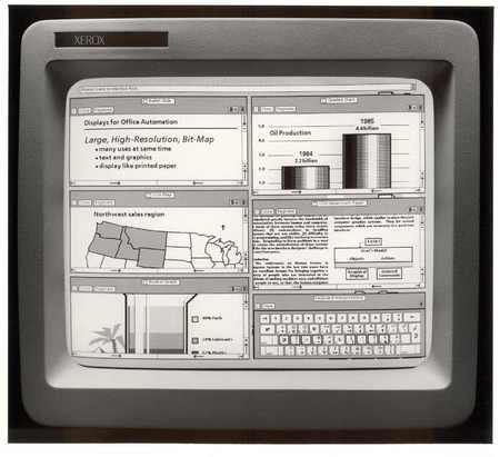 Xerox с графическим интерфейсом