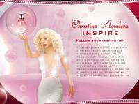 Кристина Агилера для рекламы