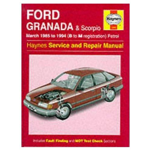 Руководство + По Ремонту Ford Scorpio