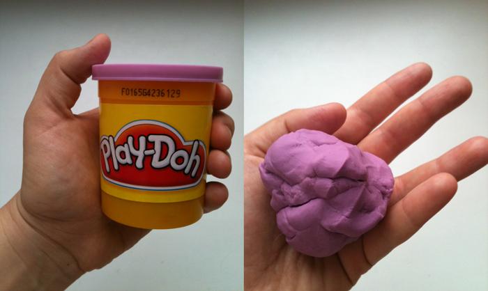 Как сделать застывающий пластилин